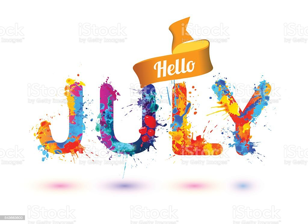 Image result for bonjour Juillet  hello july photos