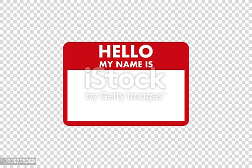 istock hello my name is sticker tag vector 1219725069