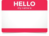 istock Hello My Name Is 521202988