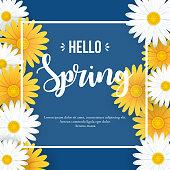 istock Hello Spring background 1200011994
