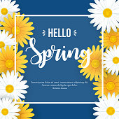 istock Hello Spring background 1200011994