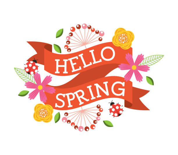 Best Happy Spring Illustrations, Royalty-Free Vector ...