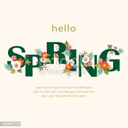 Hello spring floral