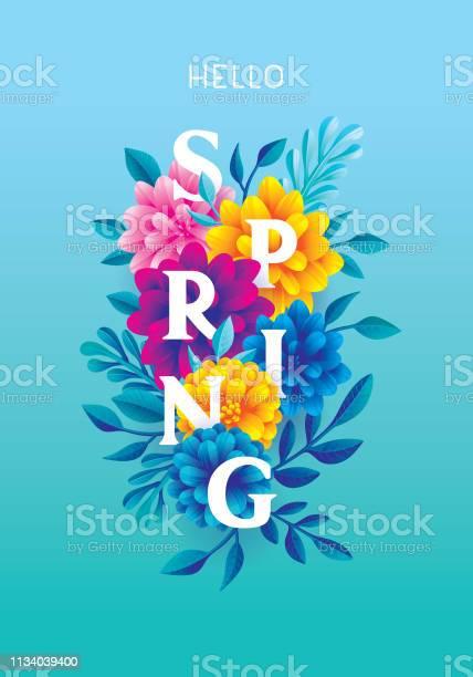 Hello spring greeting card vector id1134039400?b=1&k=6&m=1134039400&s=612x612&h=pczkfut7vynjevdf fsx8a ft3cwkylvvdq nkyicsa=