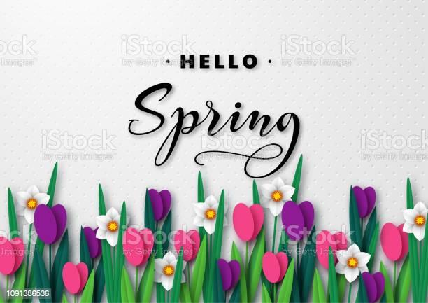 Hello spring seasonal greeting banner vector id1091386536?b=1&k=6&m=1091386536&s=612x612&h=upfo2umsn3x1pdyian047skim8qsoz9uv4fiah h50u=