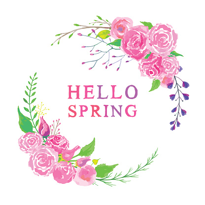 Hello springtime corners