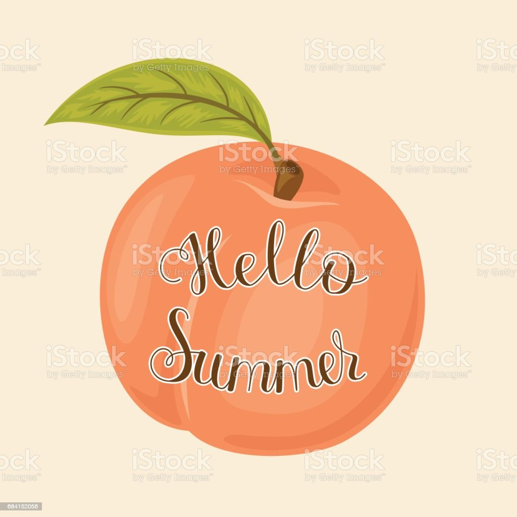 Hello Summer lettering ロイヤリティフリーhello summer lettering - tシャツのベクターアート素材や画像を多数ご用意