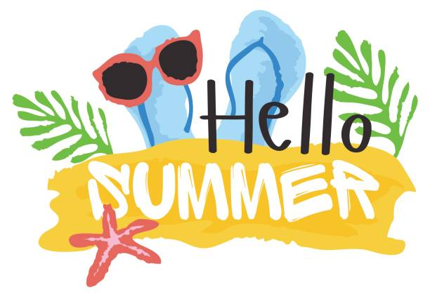 Image result for hello summer clip art