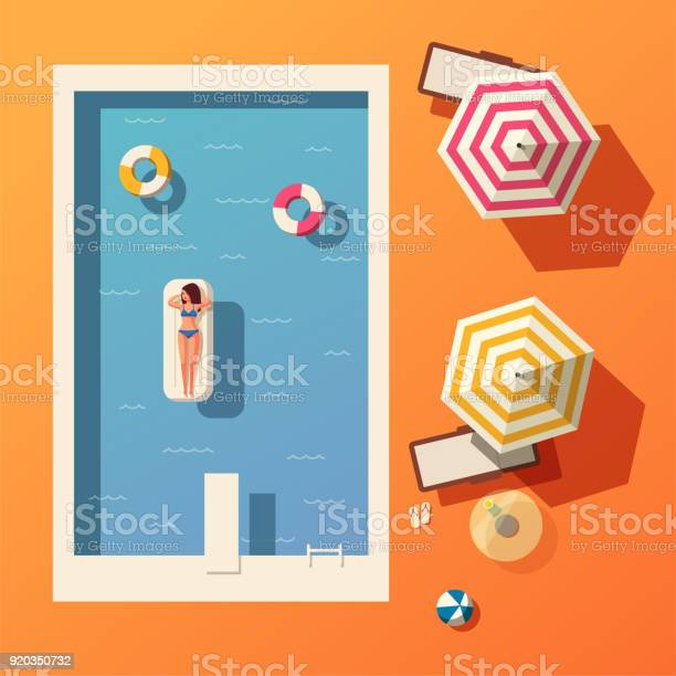 Hello summer swimming pool flat vector illustration vector id920350732?b=1&k=6&m=920350732&s=612x612&h=l8hskwaz6vz5s9p5xgifqttyaxbevju5lb9sqfrtdeu=