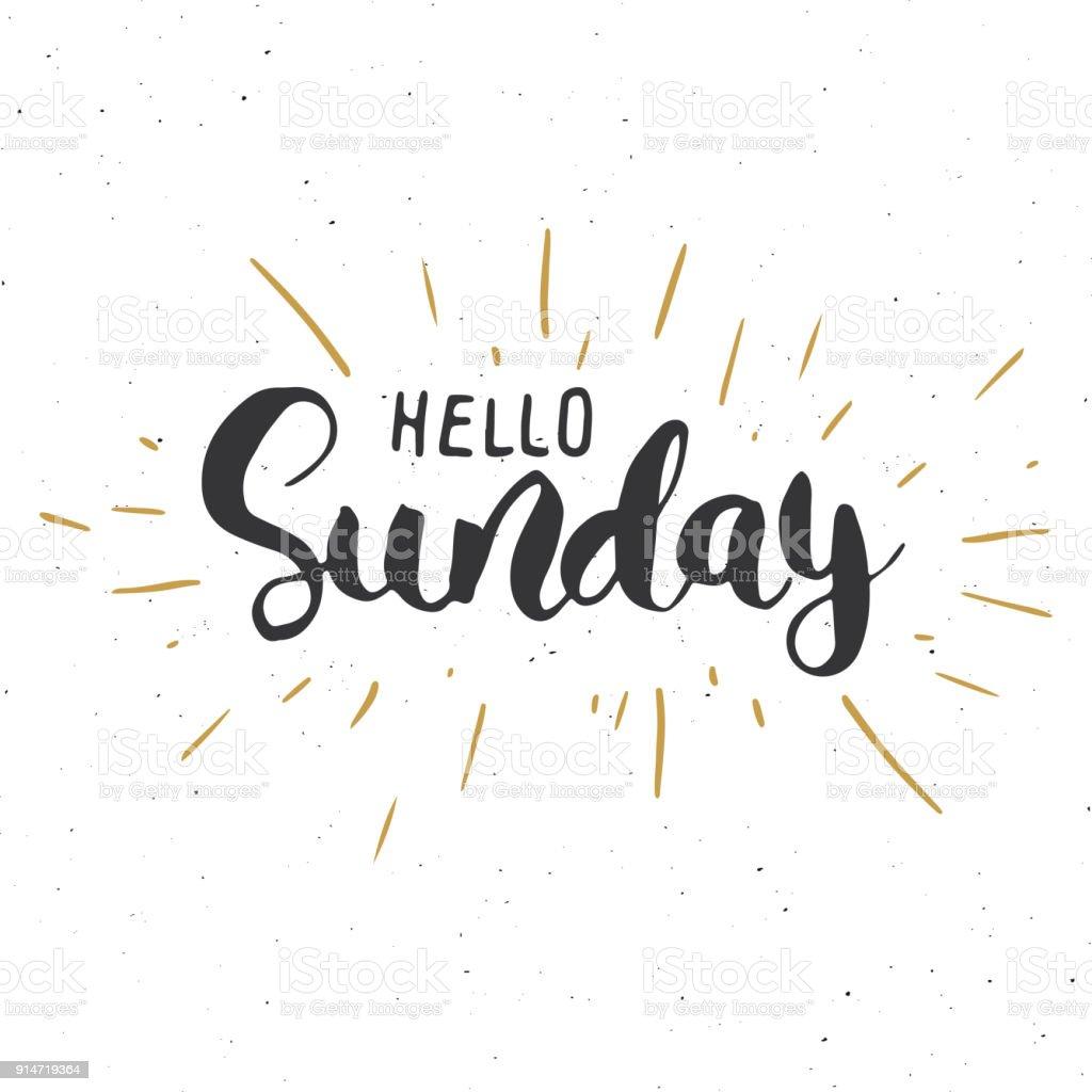Sunday.De
