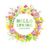 Hello wonderful spring