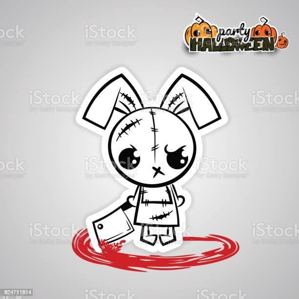 Helloween evil bunny voodoo doll pop art comic vector id824711814?b=1&k=6&m=824711814&s=612x612&h=kitduufpydfwrxzuzbsijtmxkwkx05lhvoos24ttqs4=
