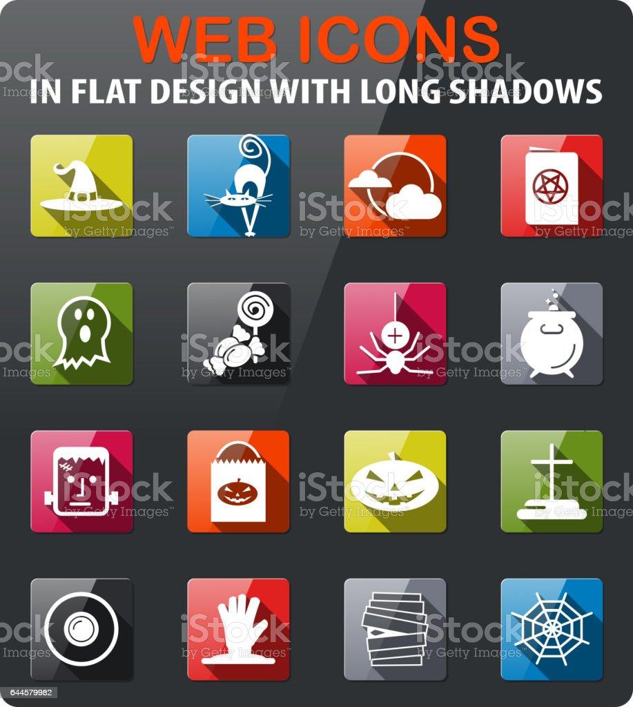 Helloween_icons_1 vector art illustration