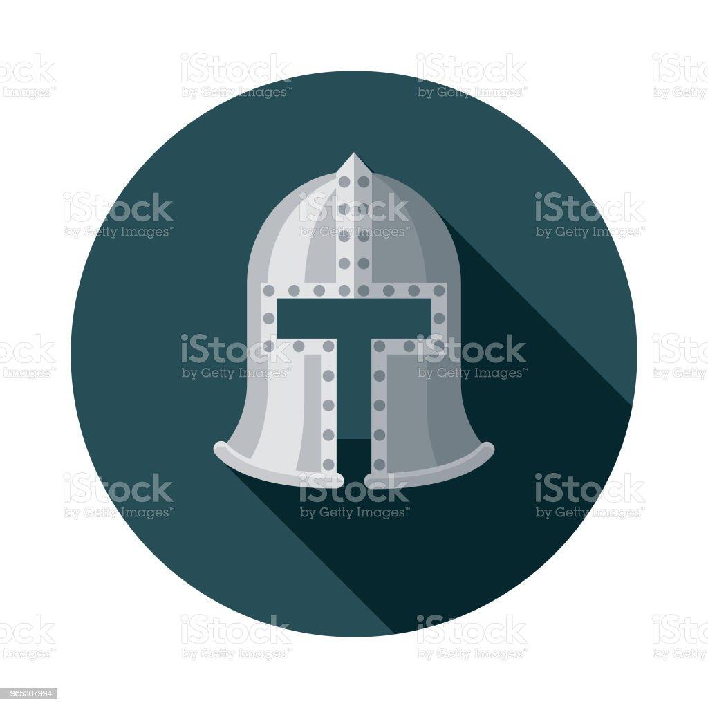 Helm Flat Design Fantasy Icon royalty-free helm flat design fantasy icon stock vector art & more images of adventure