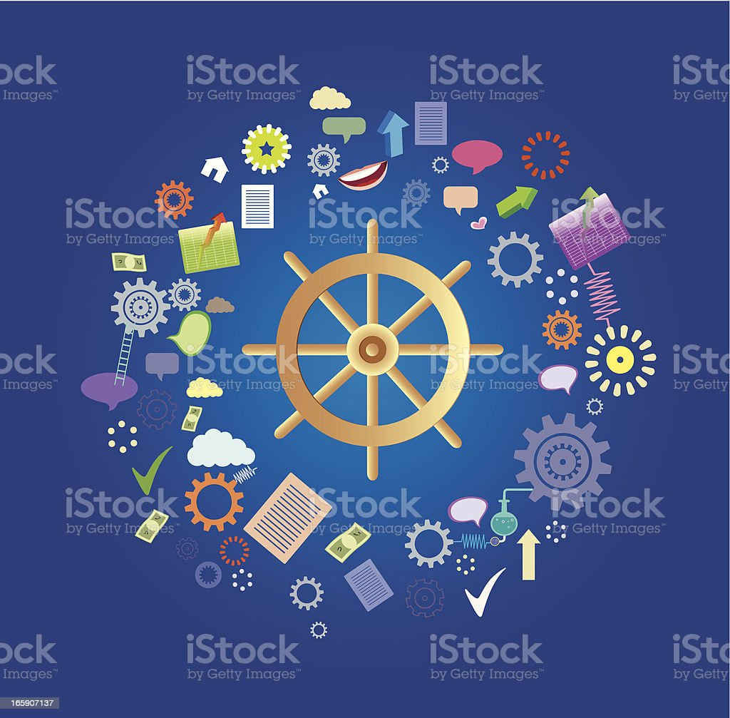 Helm of Economics royalty-free helm of economics stock vector art & more images of abstract