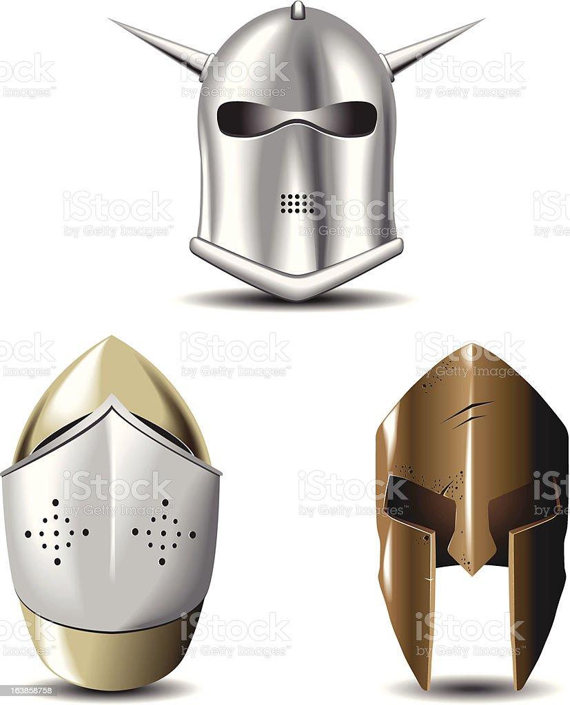 helmets royalty-free stock vector art