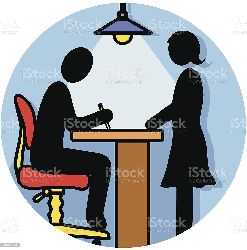 help desk icon royalty-free stock vector art