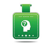 Help Green Vector Icon Design