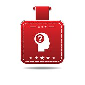 Help Red Vector Icon Design