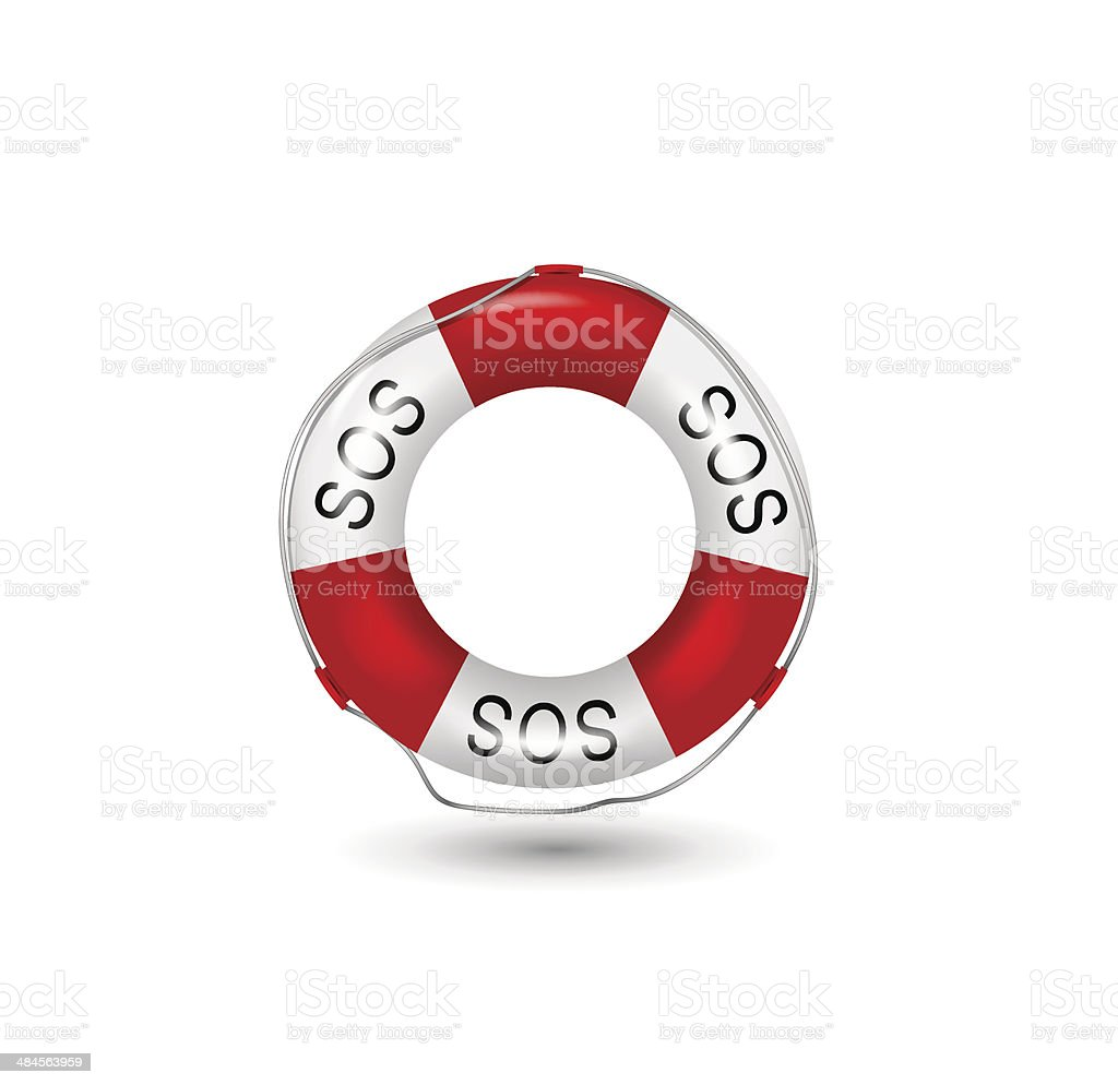 Help service icon royalty-free help service icon stock vector art & more images of buoy