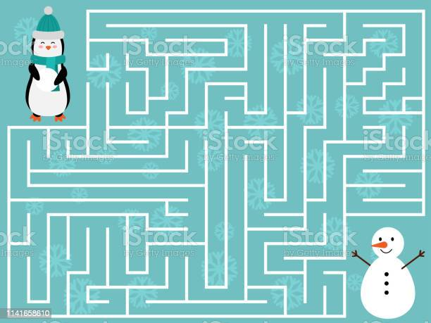 Help the penguin find the right way to the snowman vector id1141658610?b=1&k=6&m=1141658610&s=612x612&h=tm crycqxe3ocrlo9vzsgb4jmmck0is2 pqcpiaiubc=