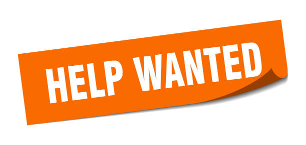 help wanted sticker. help wanted square isolated sign. help wanted help wanted sticker. help wanted square isolated sign. help wanted help wanted sign stock illustrations