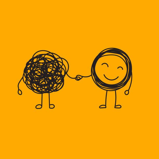 koçluk arkadaşına yardım - therapist stock illustrations