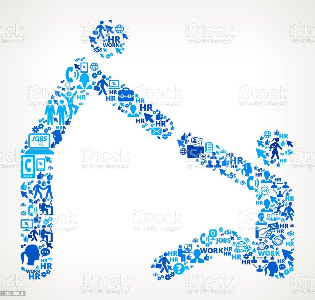 Handarbeit und Beschäftigung Corporate Symbol Hintergrund helfen Lizenzfreies handarbeit und beschäftigung corporate symbol hintergrund helfen stock vektor art und mehr bilder von anwerbung