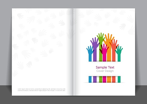 Helping Hands Cover design