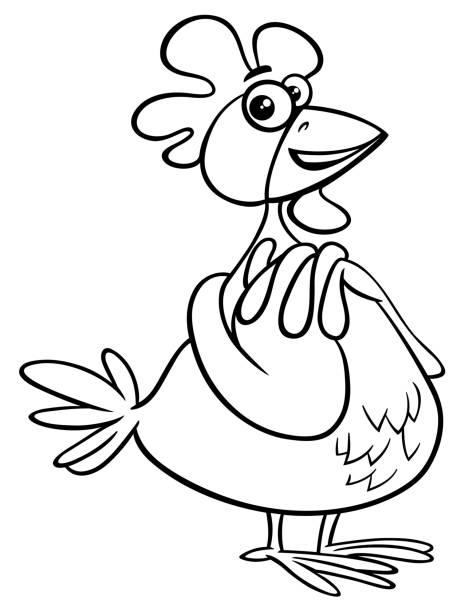 Huhn Humor Vektorgrafiken und Illustrationen - iStock