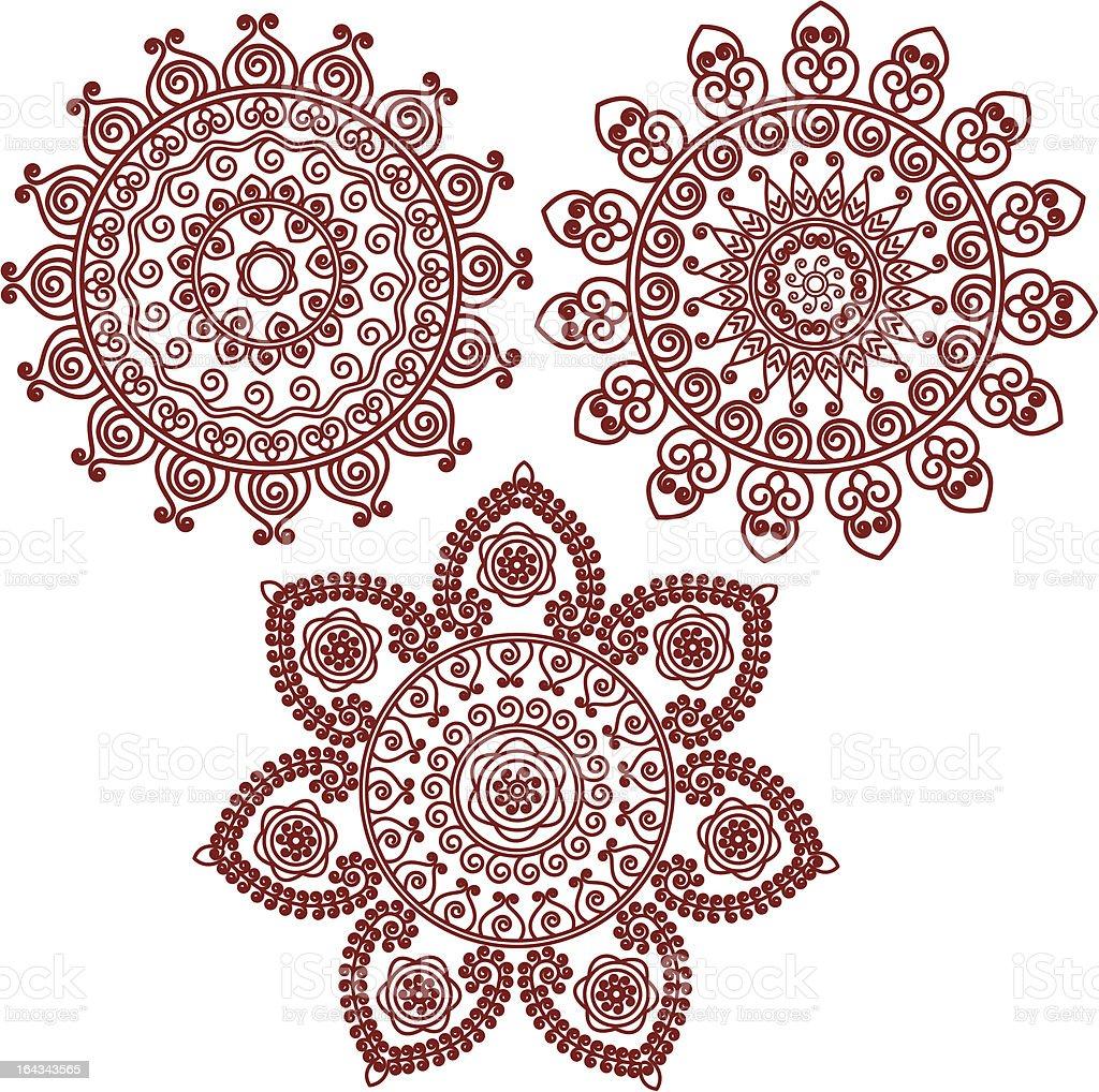 Tatuaż Mandala Stockowe Grafiki Wektorowe I Więcej Obrazów