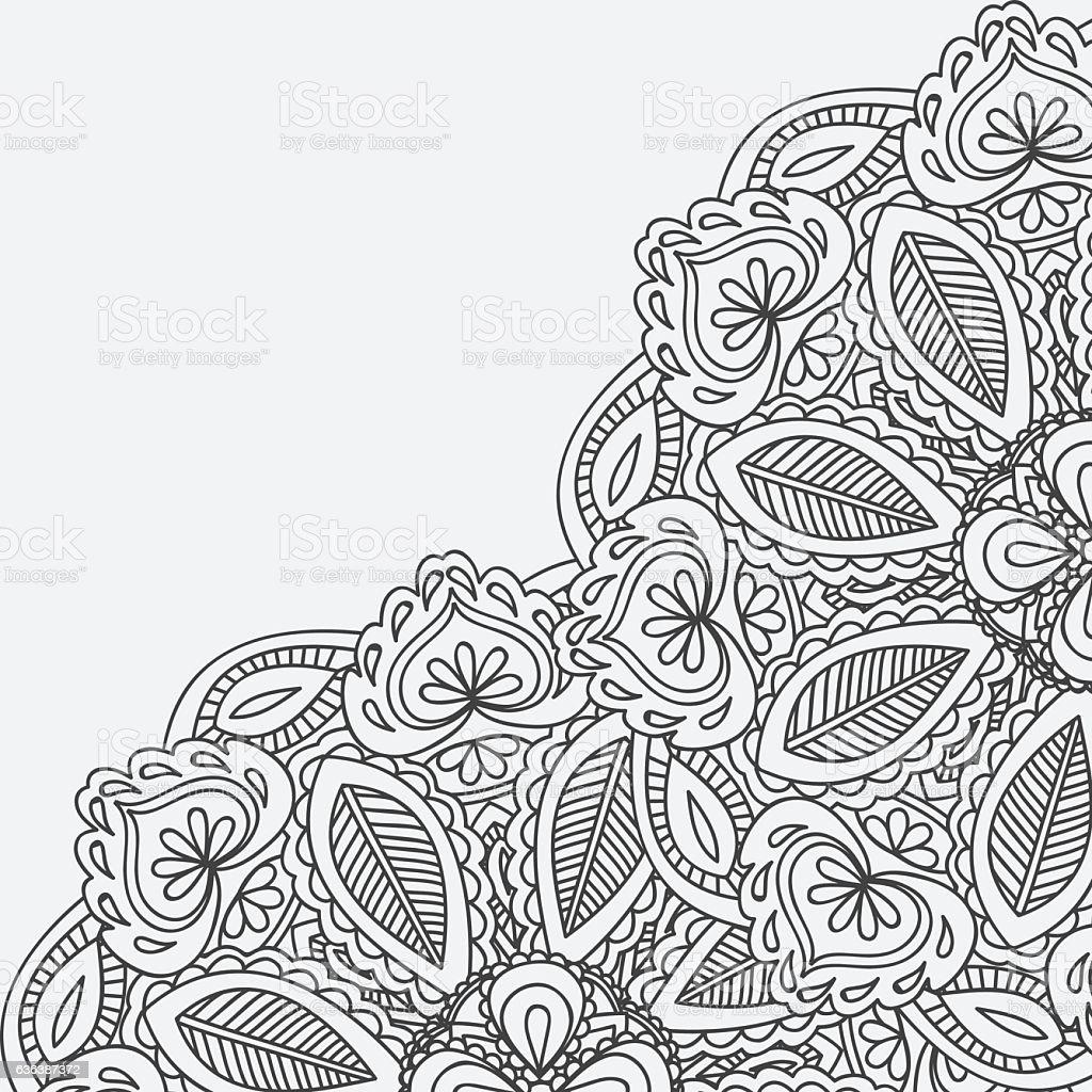 Henna mehndi card template mehndi invitation design stock vector henna mehndi card template mehndi invitation design royalty free henna mehndi card template mehndi stopboris Images