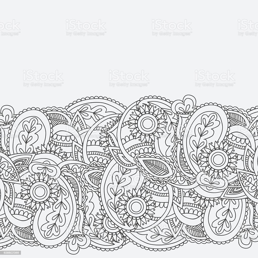 Henna mehndi card template mehndi invitation design stock vector art henna mehndi card template mehndi invitation design royalty free henna mehndi card template mehndi stopboris Images