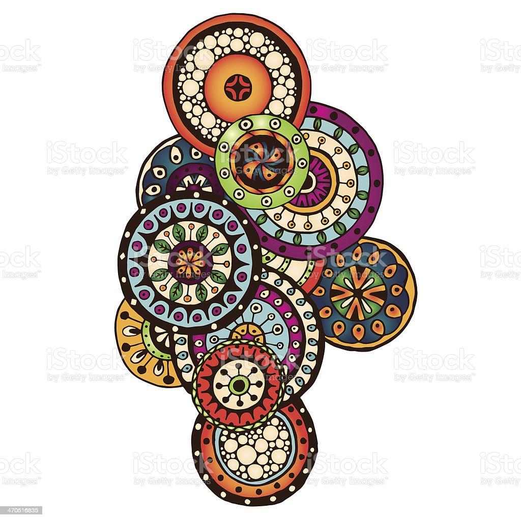 henna paisley mehndi doodles design element stock vector art more rh istockphoto com arabic henna designs vector
