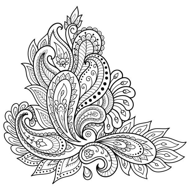 Indische Ornamente Vektorgrafiken und Illustrationen - iStock