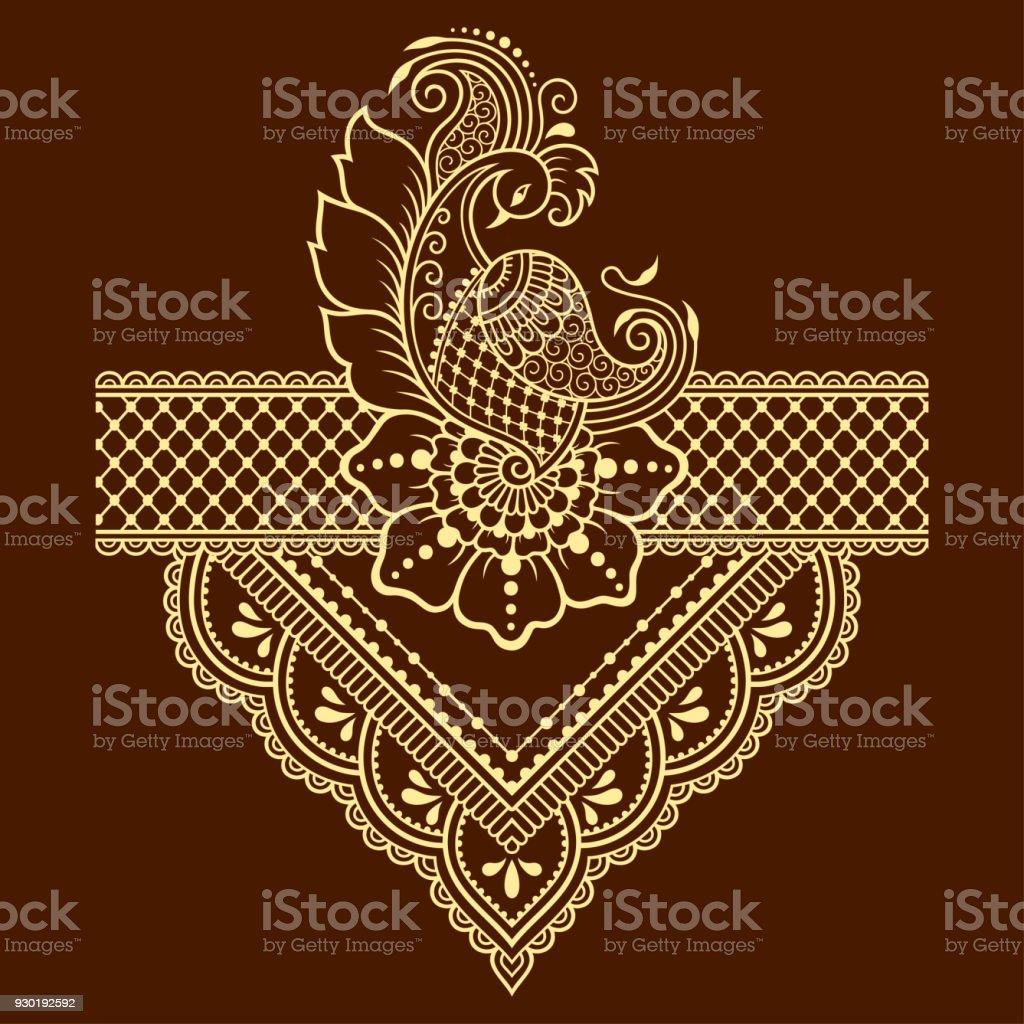 hennatattoo blume vorlage mehndistil satz von ornamentalen mustern im orientalischen stil stock. Black Bedroom Furniture Sets. Home Design Ideas