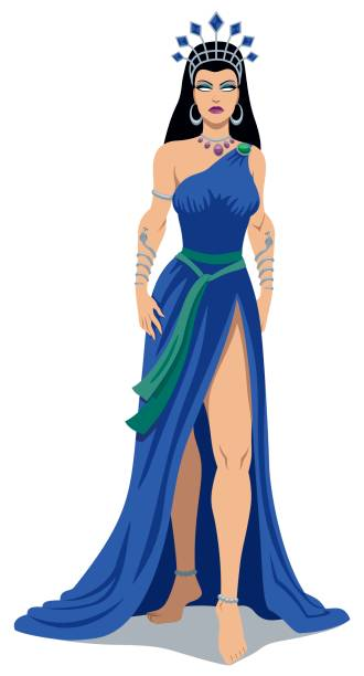 Best Greek Goddess Illustrations, Royalty-Free Vector ...
