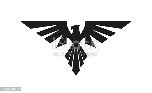 Vector eagle. Symbol and sign illustration design. Isolated on white background
