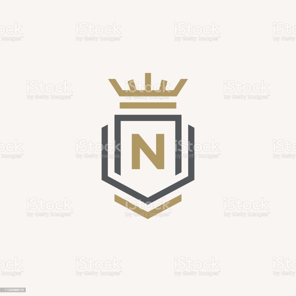 Luxury Letter N Logo Design