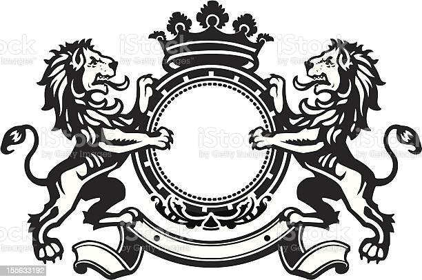 Use Art Of Heraldic Lion Free Vector Art 2 109 Free