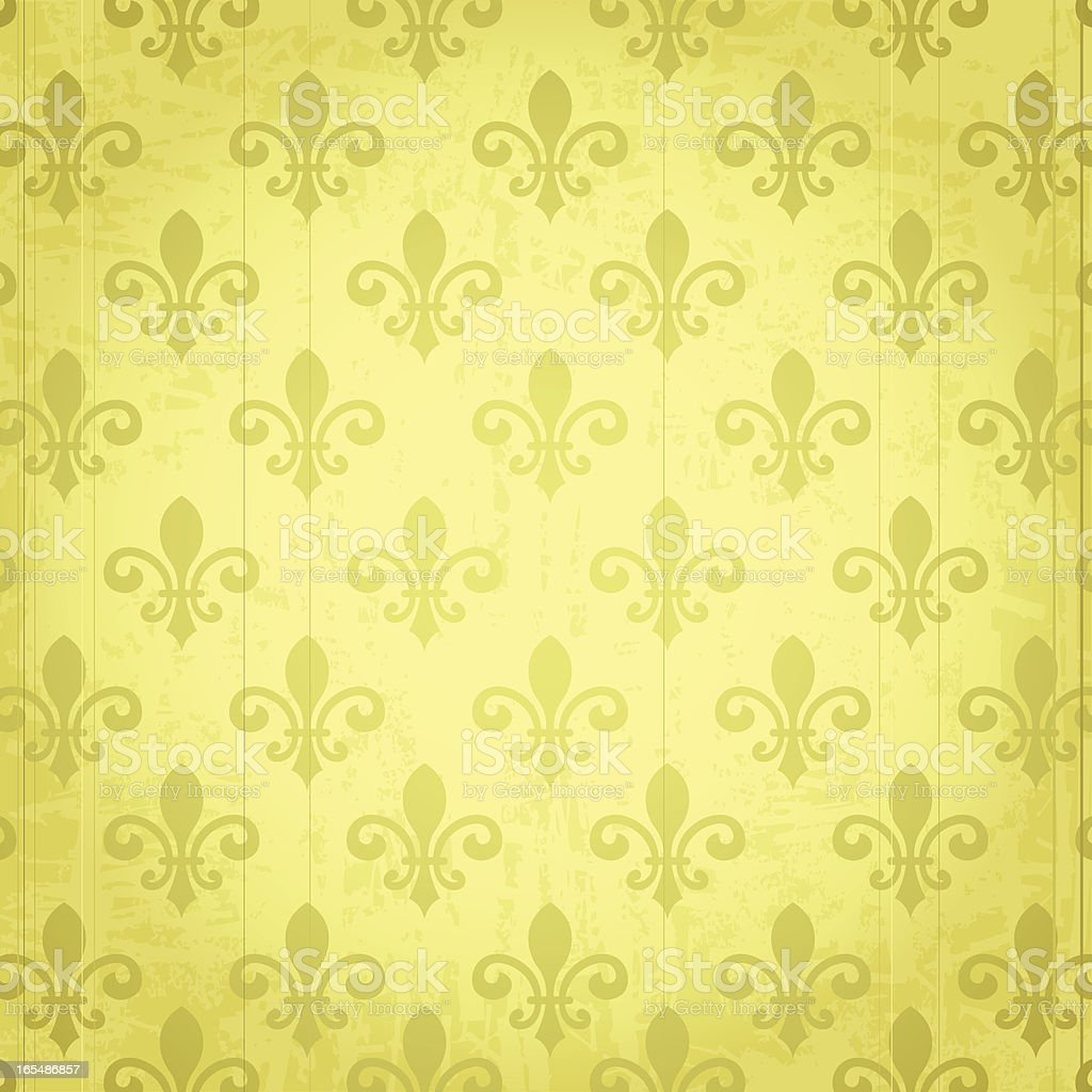 Heraldic Pattern vector art illustration