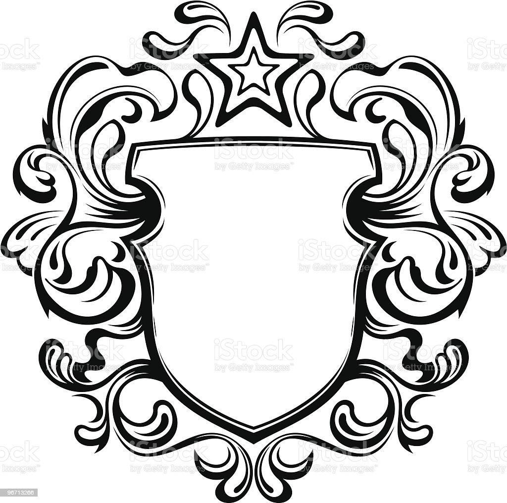 Heraldic Shield royalty-free heraldic shield stock vector art & more images of blank