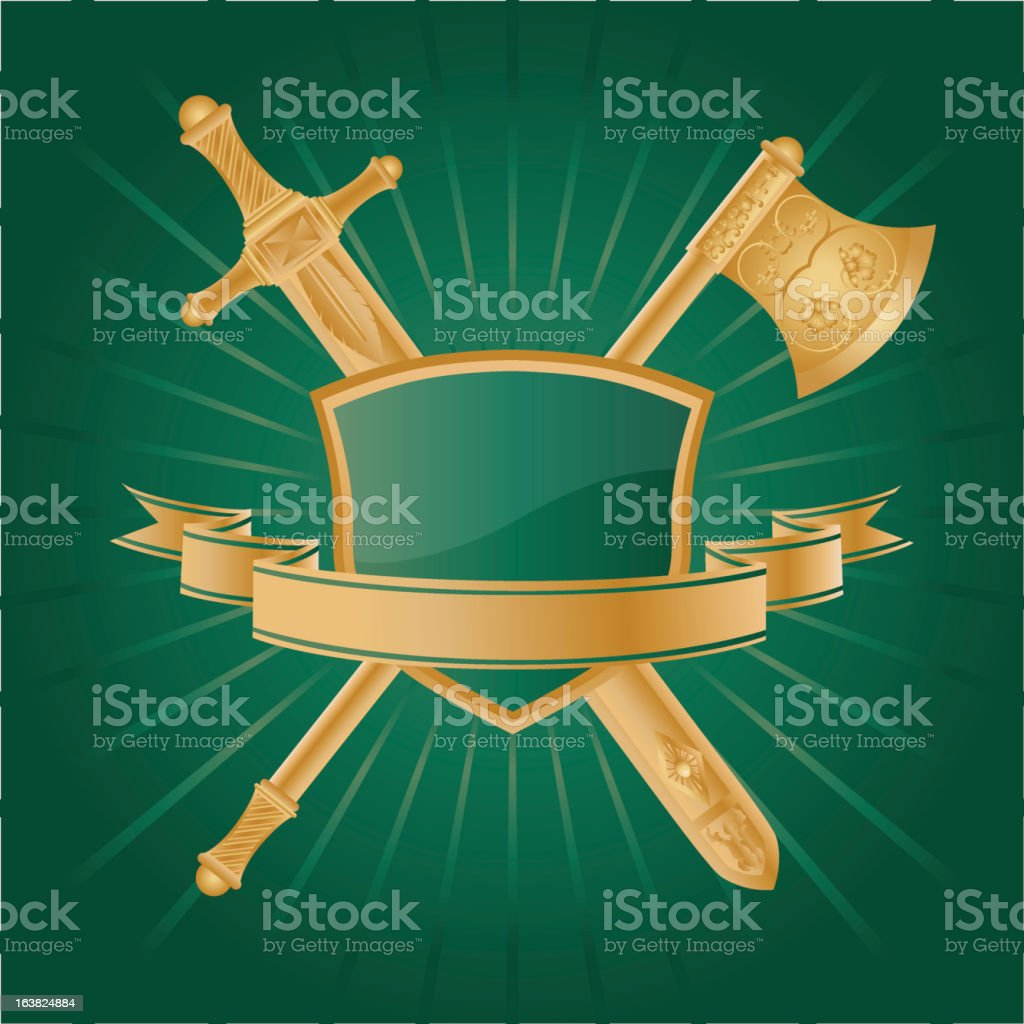 Heraldic royalty-free heraldic stock vector art & more images of coat - garment