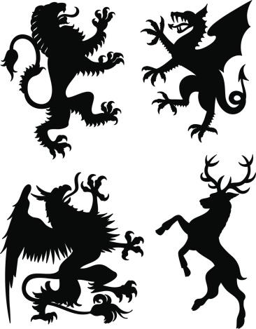 Heraldry Animals