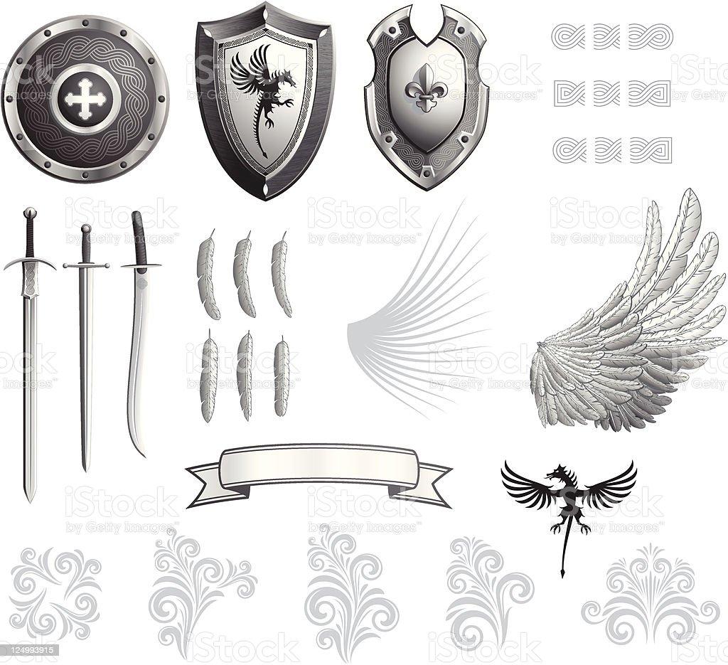 heraldry kit royalty-free heraldry kit stock vector art & more images of animal body part