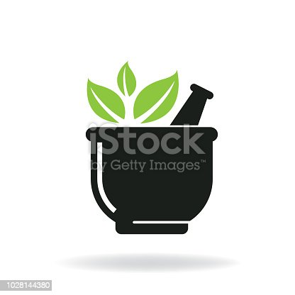 herb. eps 10 vector file