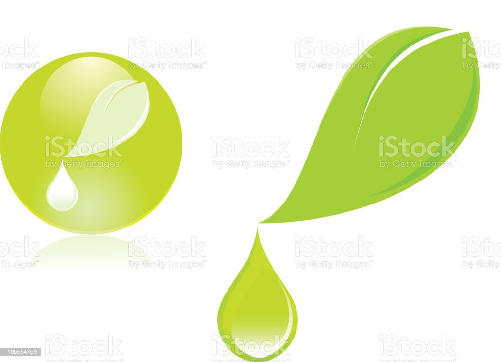 herbal extract royalty-free stock vector art