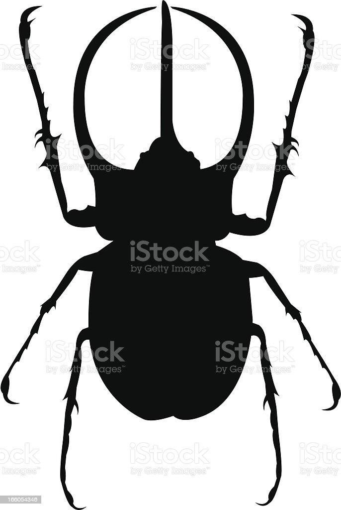 Ilustración de Escarabajo Hércules y más banco de imágenes de Animal ...