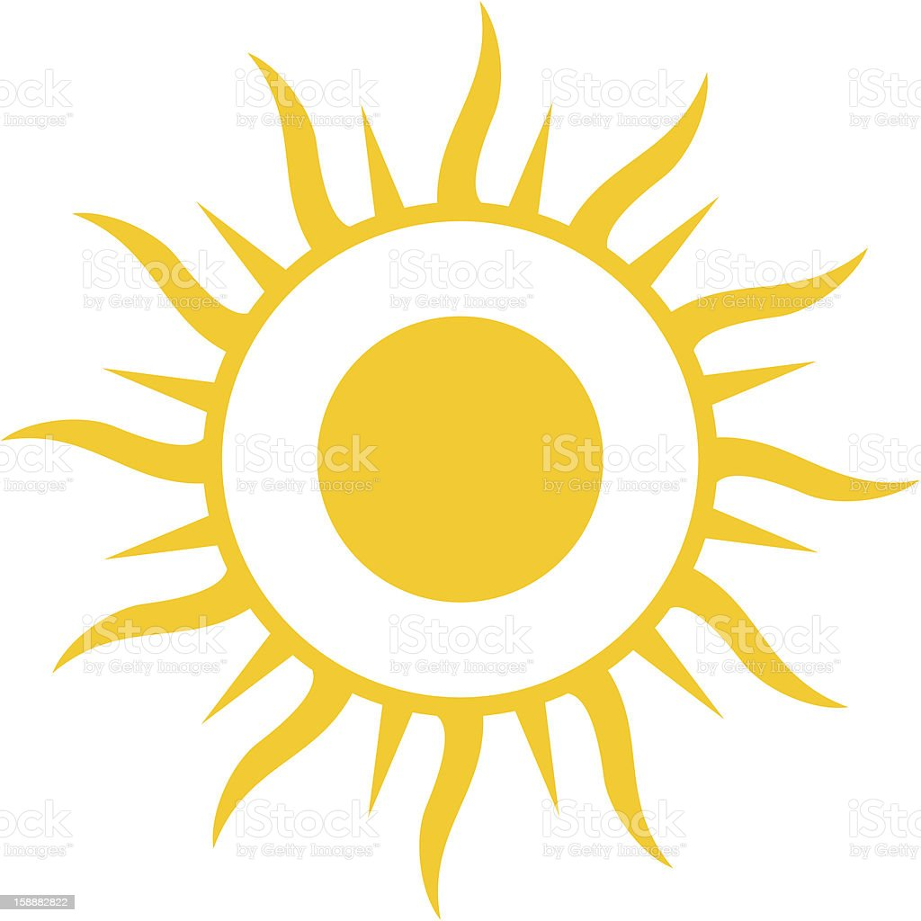 here comes the sun stock vector art 158882822 istock rh istockphoto com