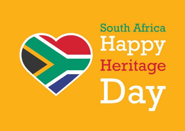 bildbanksillustrationer, clip art samt tecknat material och ikoner med heritage dag vektor - south africa